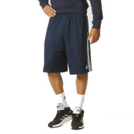Adidas Mens Team Basketball Short - Navy/White