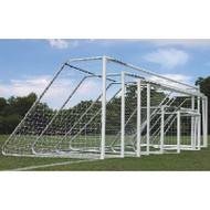AlumaGoal Auminum Round Soccer Goal - 24' Wide