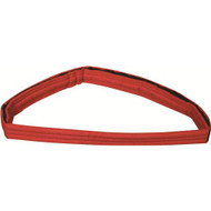 """Long Body Strap - Orange 75"""" x 2""""  Made of strong -  easy to clean -  foam filled nylon"""