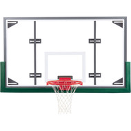 "Gared 42"" x 72"" Glass Conversion Backboard"