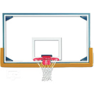 "Gared 48"" x 72"" Glass Backboard"