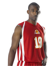 Alleson Men's eXtreme Mock Mesh Reversible Basketball Jersey