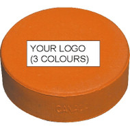 Hockey Puck with 3 colour imprint