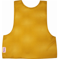 Youth Football Scrimmage Vest - Gold