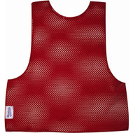 Youth Football Scrimmage Vest - Red