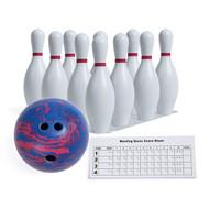 Deluxe Plastic Bowl Ball & Pin Set