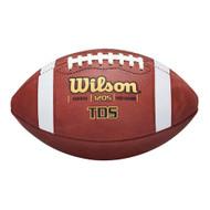 Wilson TDS Senior Leather Football - High School Size