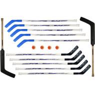 "54"" Elite Floor Hockey Stick Set w/ Goalie Sticks included"