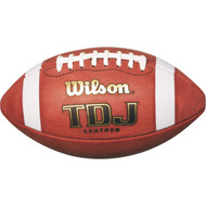 Wilson TDJ Junior Leather Football