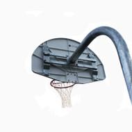 "4 1/2"" Gooseneck Basketball Pole - 4' Extention (G2664X)"