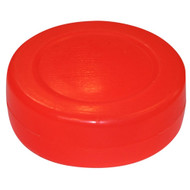 "3"" Orange Hollow Basic Floor Hockey Puck"