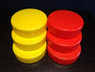 Replacement Discs for Giant Up 4 It (3/Yellow -  3/Red)