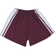 Windsor Stock Field Hockey Shorts - Maroon/White