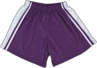 Windsor Stock Field Hockey Shorts - Purple/White