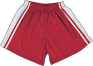 Windsor Stock Field Hockey Shorts - Red/White