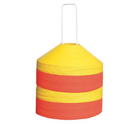 Saucer PrePack Cones (set of 50) with Stand