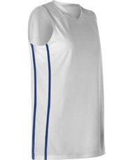Alleson 535J Women's Side Stripes Basketball Jersey