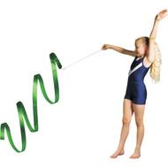 3 m Junior Gymnastic Ribbon - Green