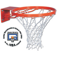 Gared Front Mount Double Rim Basketball Goal