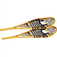 """Wood snowshoes -11"""" x 36"""" (90-110lbs)"""