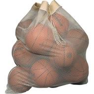 "36"" x 40"" White small hole mesh bag"