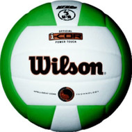 Wilson I-COR Power Touch Volleyball GREEN/WHITE