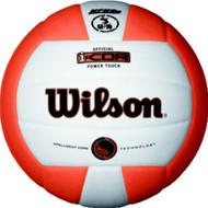 Wilson I-COR Power Touch Volleyball ORANGE/WHITE