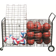Deluxe ball carrier on wheels