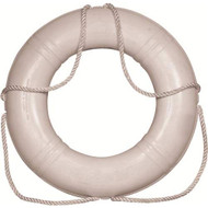 "20"" Ring Buoy - White 4.2lbs"