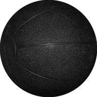 Rubber Medicine Ball 6 kg Black