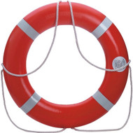 "30"" Ring Buoy - orange 4kg  Dolfin Ring Buoys-Canadian D.O.T. Approved"