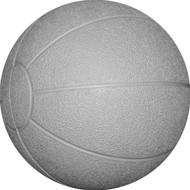 Rubber medicine ball 8 kg. Grey