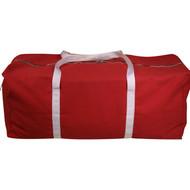 Heavy Duty Canvas Equipment Bag - Red