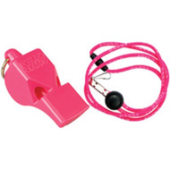 Whistle with Lanyard - Breast Cancer Awareness - PINK (MBL-PK)