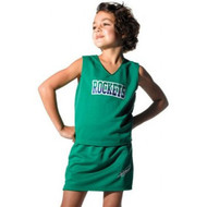 Girl's Solid Colour Cheerleading Top