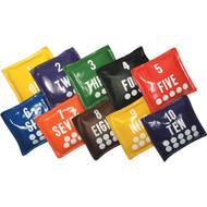 Number Bean Bags Set