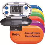 Pedometers coloured 6 pack