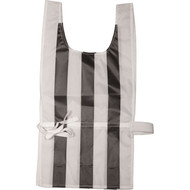 Black/White striped referee's pinnie