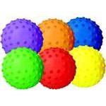 "Sensory Playball 5"" Rainbow Set (6)"