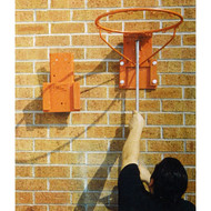 Backboard Plate for Removeable BB Goal