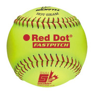 "Worth 12"" Softball Canada Red Dot COR47"