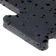 """Puzzle tiles 23"""" X 23"""" X 8mm BLACK inside tile"""