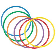 Rainbow prepack of 20' hoops/ set of 6