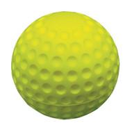 "2 1/2"" Over-sized Practice Sponge Golf Balls - Yellow"