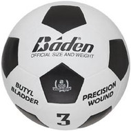 Baden Deluxe Rubber Size 3 soccer ball