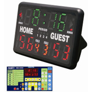 SK999 Indoor/Outdoor Tabletop Scoreboard & Timer