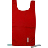 Elementary Nylon Pinnie - Red