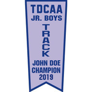 "Twill Championship Banners (84"" x 36"")"