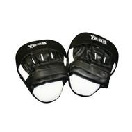 Boxing Coaches Pad PVC - Black/White