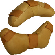 Replacement cowhide mask pad
